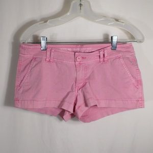 Mossimo Supply Co. Shorts - Low Rise Pink Short Shorts